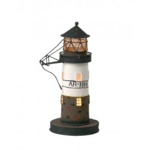Fa világítótorony Roter Sand mini Világítótorony