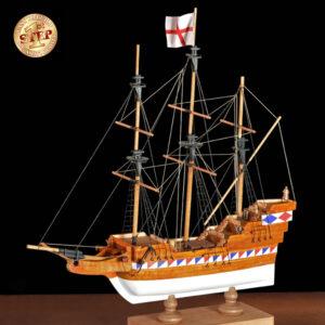 1. lépés Galleon hajómakett építőkészlet Amati