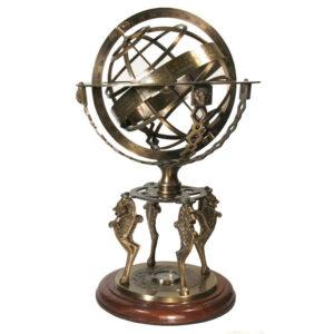 Armilláris gömb iránytűvel 45 cm Armilláris gömb