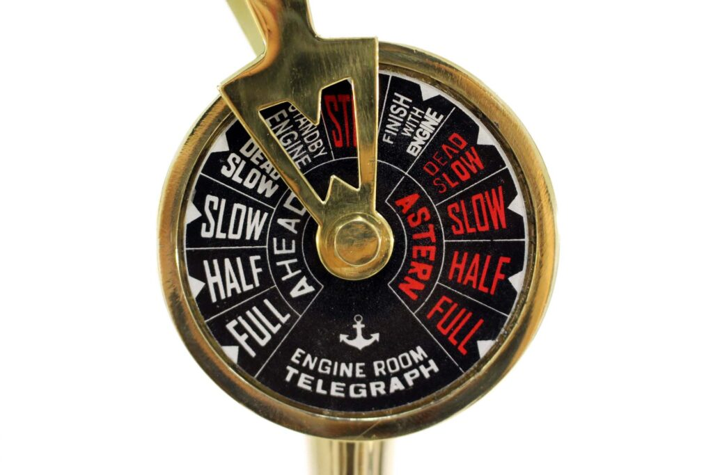 Hajó telegráf 35 cm Telegráf