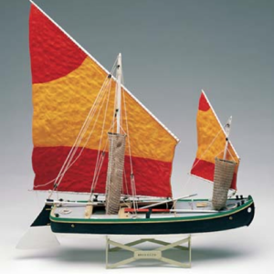 Bragozzo hajómakett építőkészlet Amati