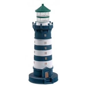 Világítótorony világítással kék terasszal Világítótorony
