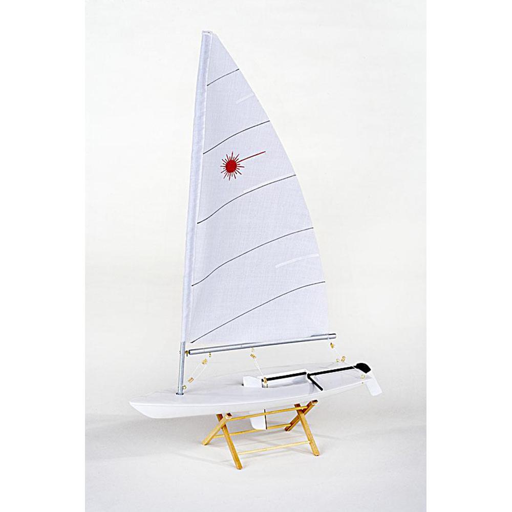 Laser makett L25,5 Vitorlás hajómakett