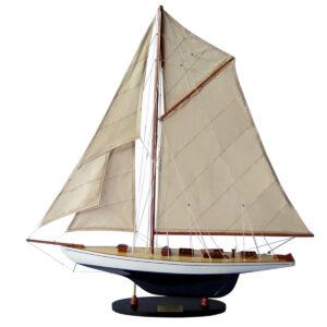 Defender festett makett L60 Vitorlás hajómakett