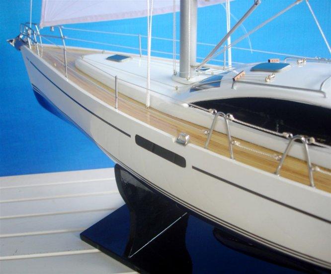 Jeanneau Sun Odyssey 45DS makett L70 Vitorlás hajómakett