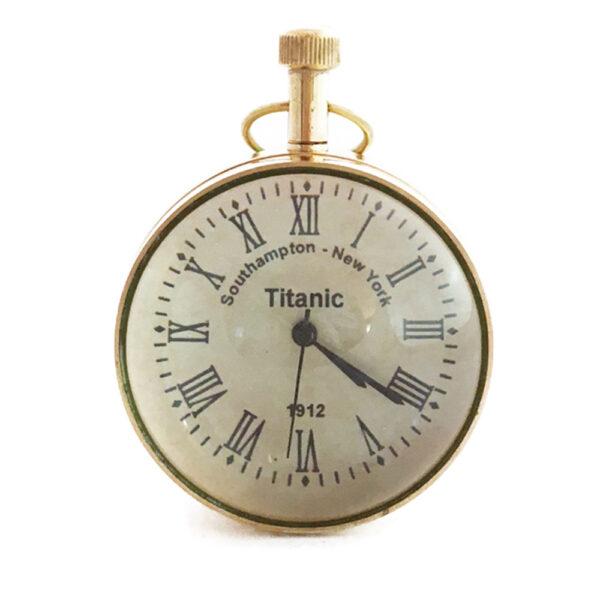 Gömbóra fadobozban 5 cm Titanic Óra