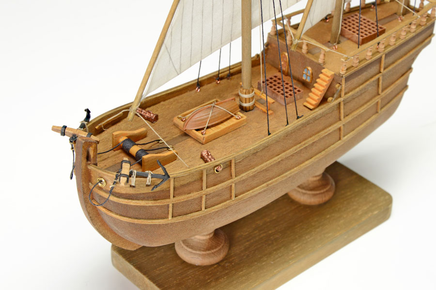 1. lépés Nina hajómakett építőkészlet Gyerek kitt