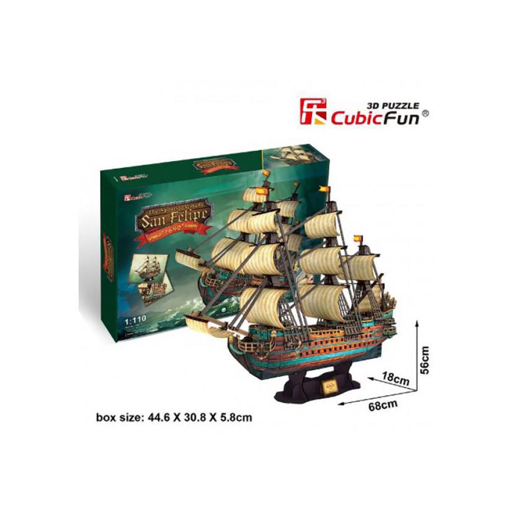 San Felipe 3D puzzle 3D puzzle Cubicfun