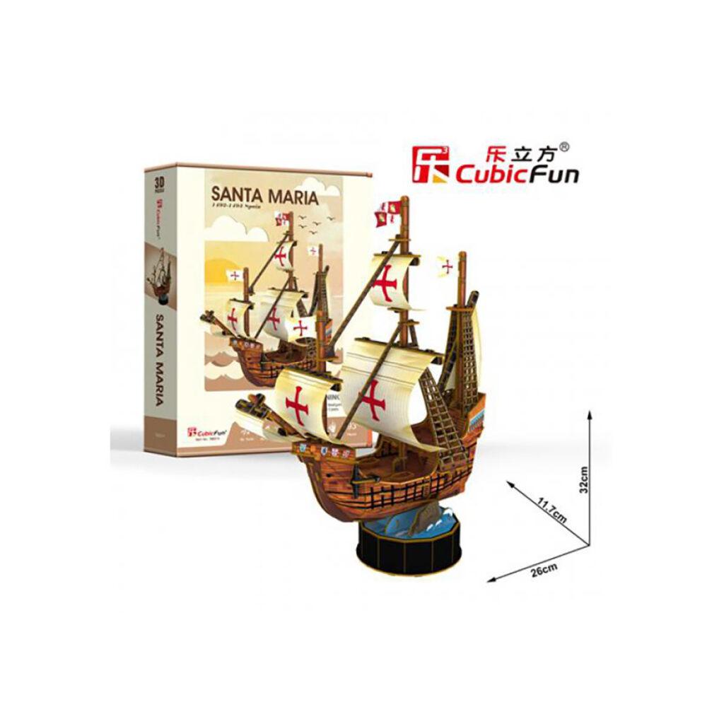 Santa Maria 3D puzzle 3D puzzle Cubicfun