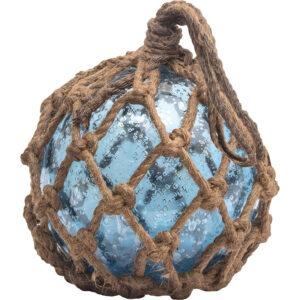 Üvegbója türkisz kék Bója