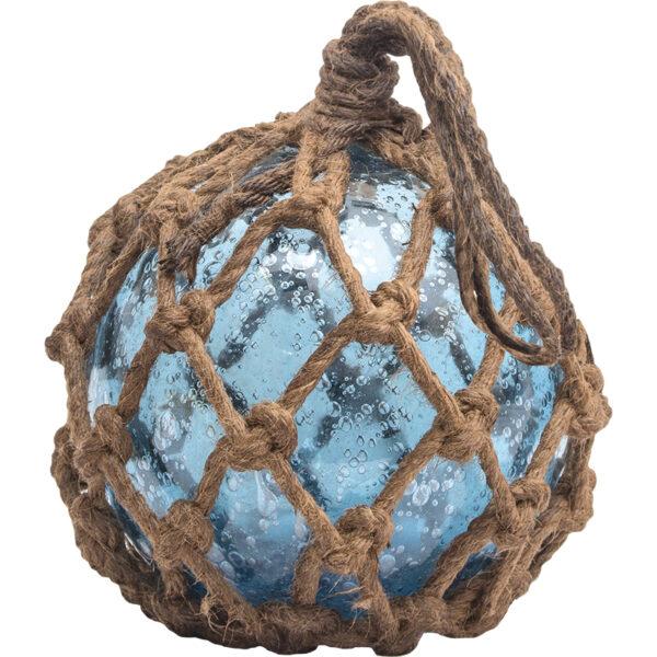 Üvegbója kék Bója