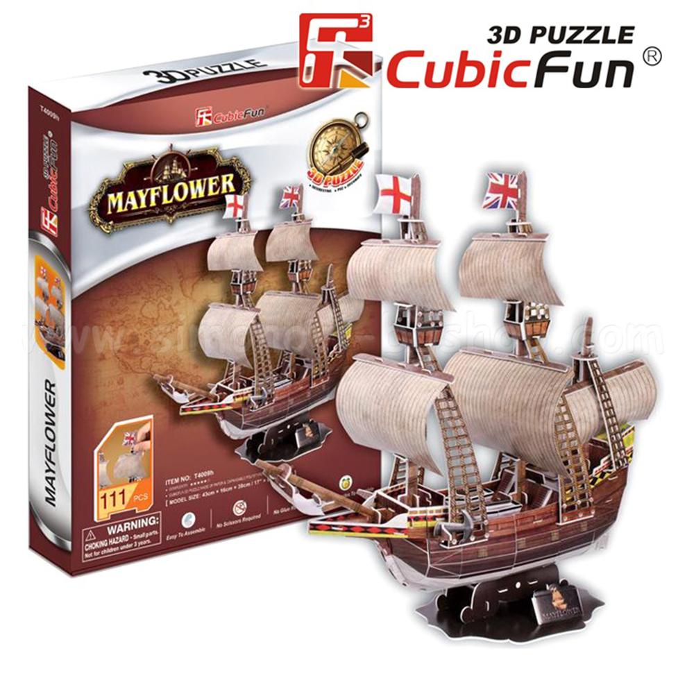 Mayflower 3D puzzle 3D puzzle Cubicfun [tag]