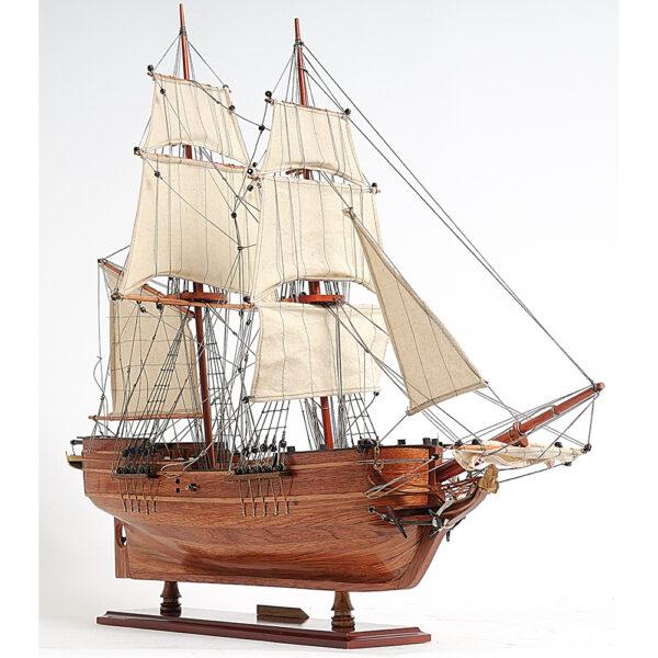 Lady Washington makett Történelmi makett