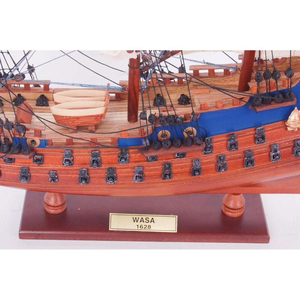 Vasa makett Történelmi makett
