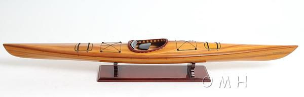 Kajak makett Kishajó, Csónak