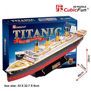 Titanic 3D puzzle 3D puzzle Cubicfun