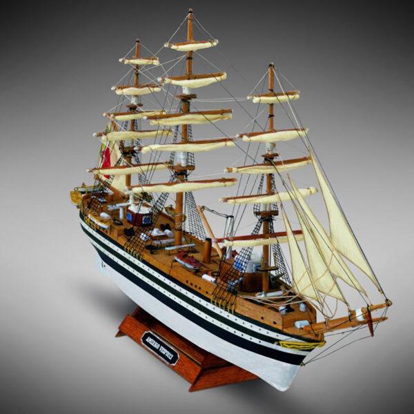 Amerigo Vespucci hajómakett építőkészlet Gyerek kitt