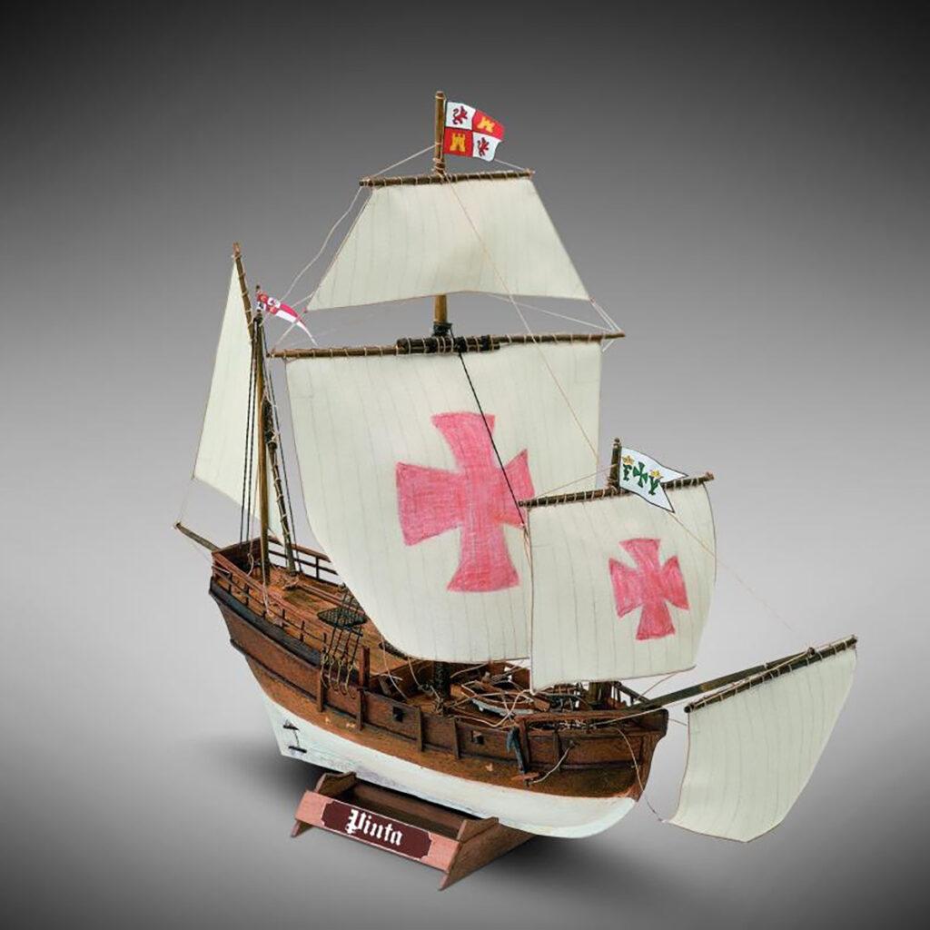 Pinta hajómakett építőkészlet Gyerek kitt