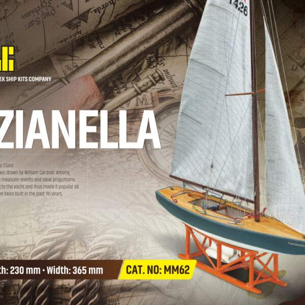 Star Genzaniella hajómakett építőkészlet Gyerek kitt