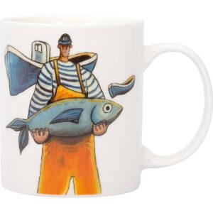Bögre halászos Borkellék, Konyha