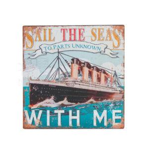 Titanic fém kép Festmények, képek