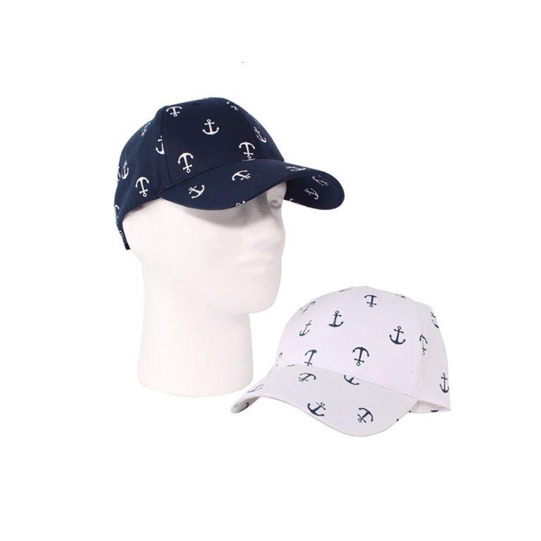 Horgony mintás baseball sapka Sapka, kalap