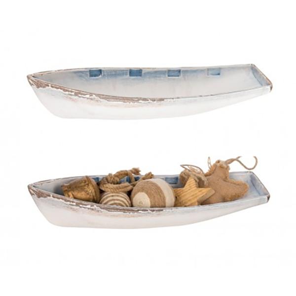 Csónak alakú polc Szekrény