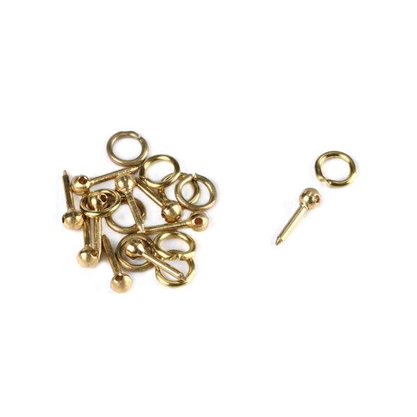 Réz szeg gyűrűvel 3mm Kiegészítők