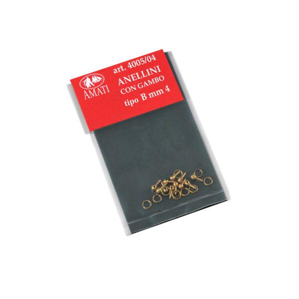 Réz szeg gyűrűvel 4mm Kiegészítők
